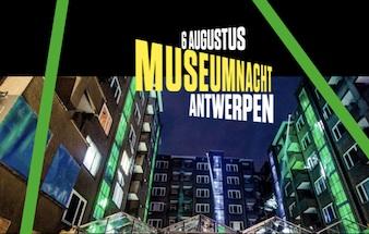 Museumnacht Antwerpen 6 augustus