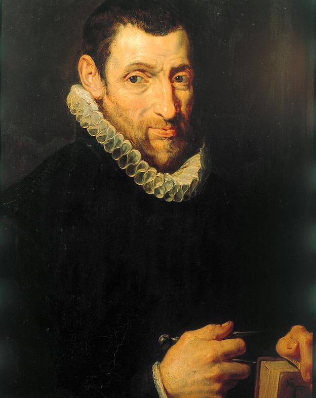 1.Portret Christoffel Plantin, naar verluidt door Peter Paul Rubens (1577-1640).
